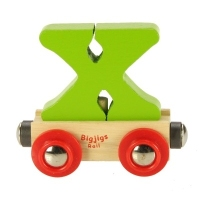 Bigjigs Rail Name Letter X