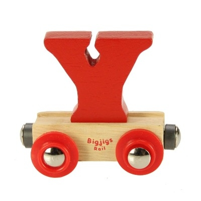 Bigjigs Rail Name Letter Y