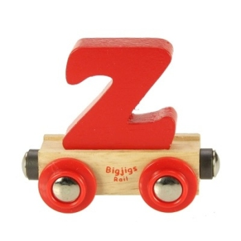 Bigjigs Rail Name Letter Z