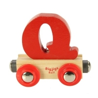 Bigjigs Rail Name Letter Q