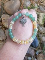 Citrine and Green Aventurine Bracelet