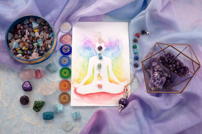 30-minute Crystal Therapy - 7 Chakra Balancing Session