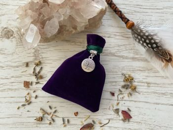 Prosperity & Abundance Herbal Spell Charm