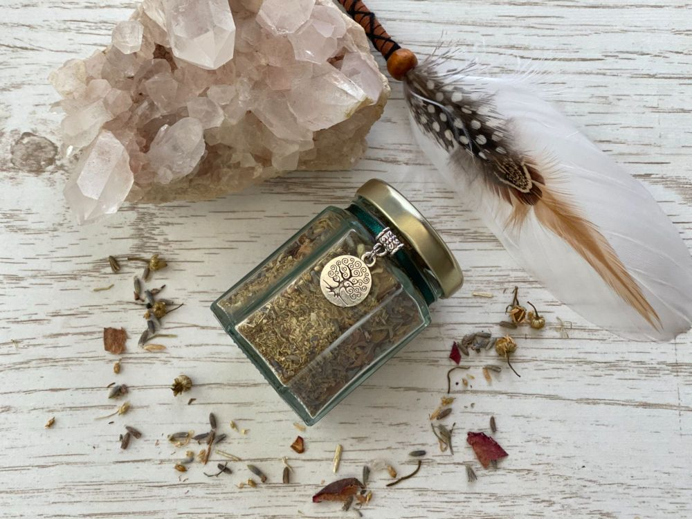 Prosperity and Abundance Witches Jar