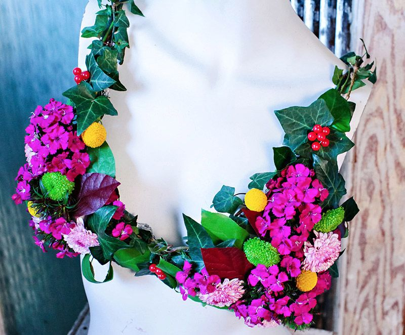 floral bra