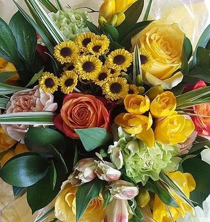 Springtime bouquet.