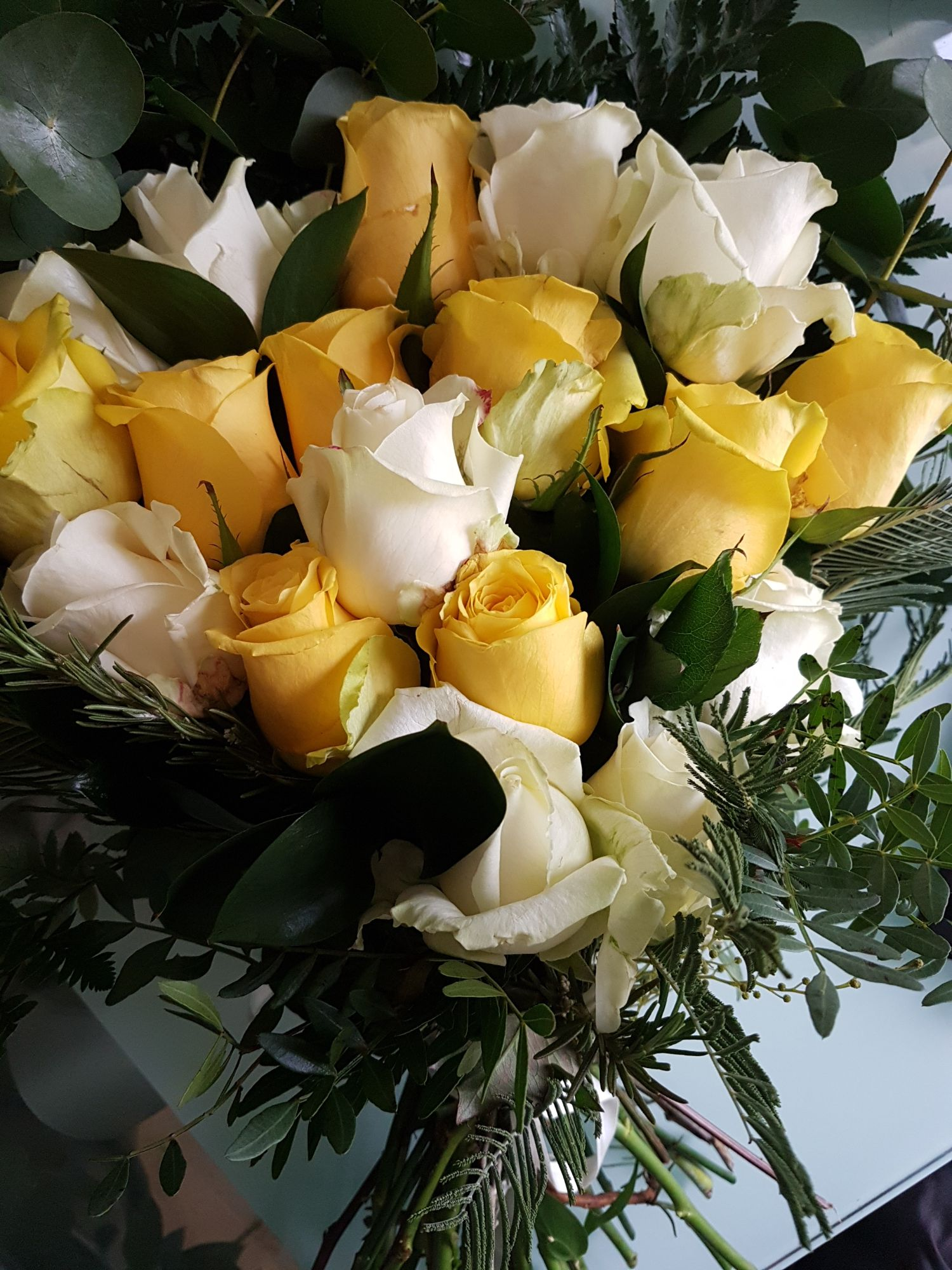 Roses, and Calla Lily