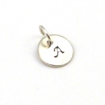 Personalised Sterling Silver Disc Charm Add On