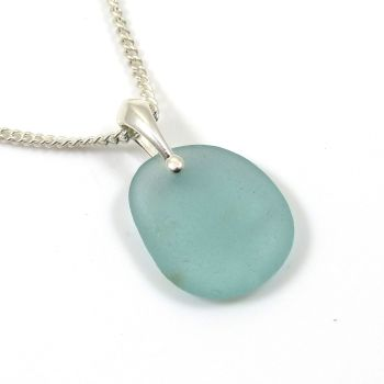 Pale Julep Sea Glass Necklace JORDAN