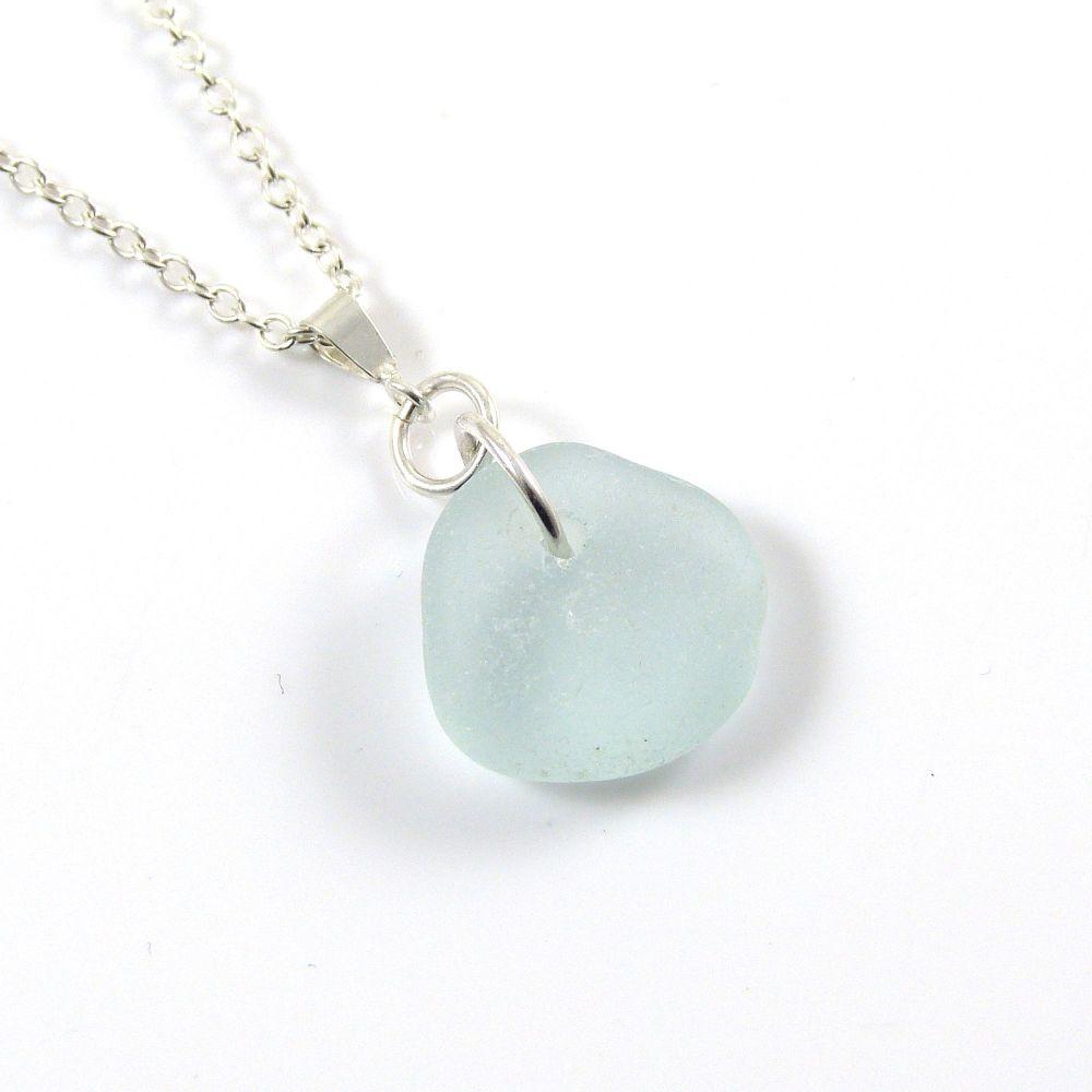 Seaspray English Sea Glass Necklace MILA