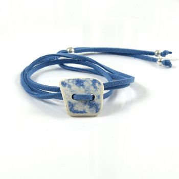BOHO Adjustable Beach Pottery Wrap Bracelet