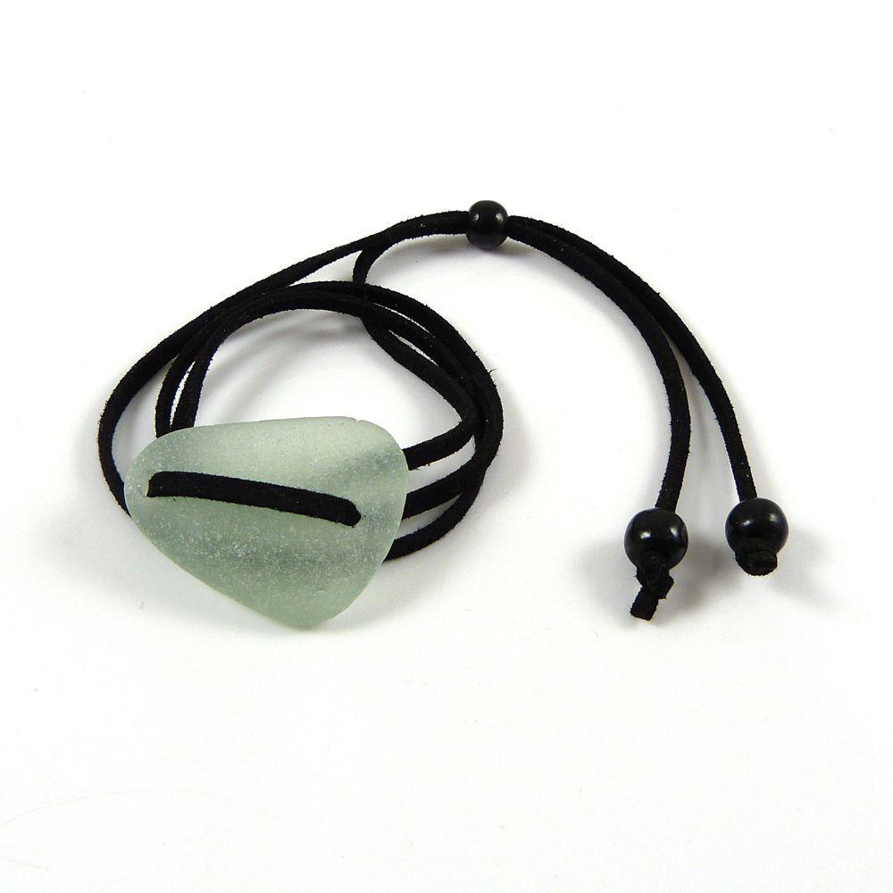 BOHO Adjustable Sea Glass Wrap Bracelet