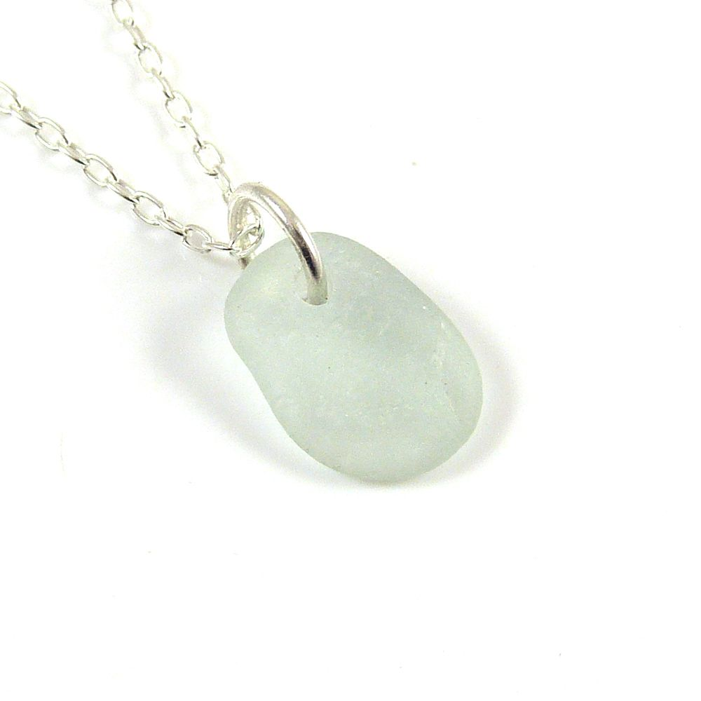 Seaspray Sea Glass Necklace JULEE