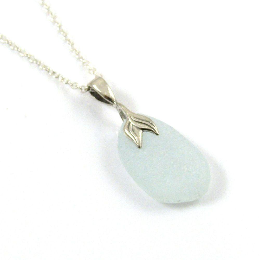 Seaspray Sea Glass Necklace Mermaid ANNA