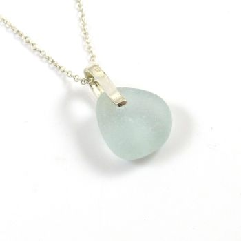 Seaspray English Sea Glass Necklace ABBY