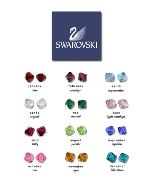 Swarovski Crystal Charm Add On