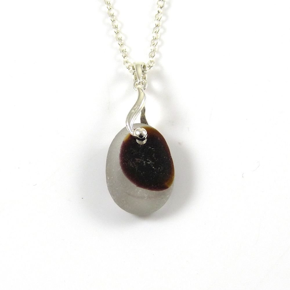 Seaham Sea Glass Necklace LUNA