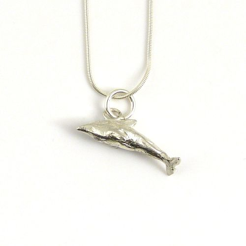 sterling silver dolphin necklace (4)