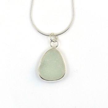 Seamist Sea Glass Pendant Necklace SIMONE
