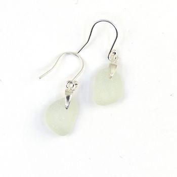 Seaham Seamist Sea Glass Sterling Silver Earrings  E204