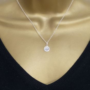 Sterling Silver My Little Girl Necklace - Simple - Dainty - Minimalist - New Mum Gift