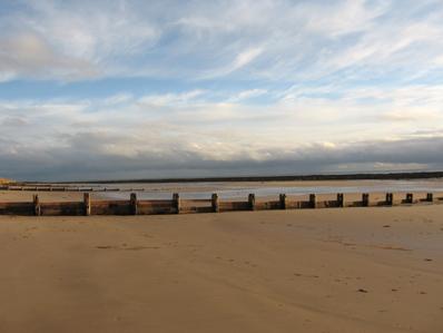 Alnmouth Beach thestrandline