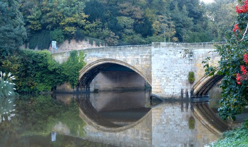 warkworth bridge - late 14th century 800x473