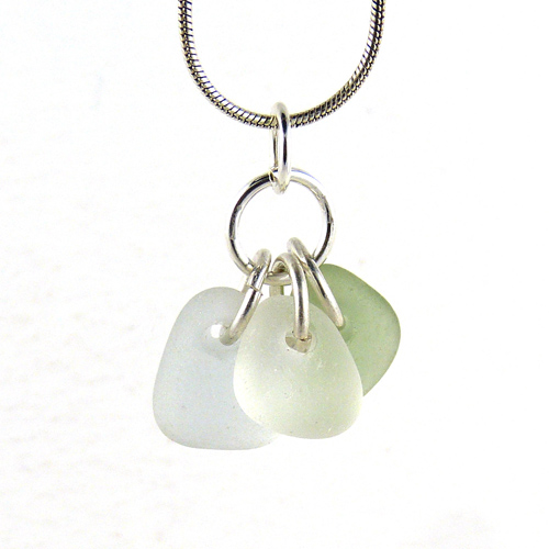 sea glass trio necklace copy