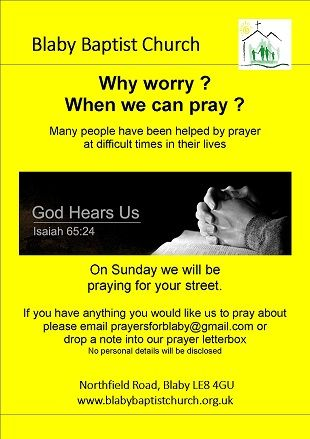 Church Prayer Poster website small