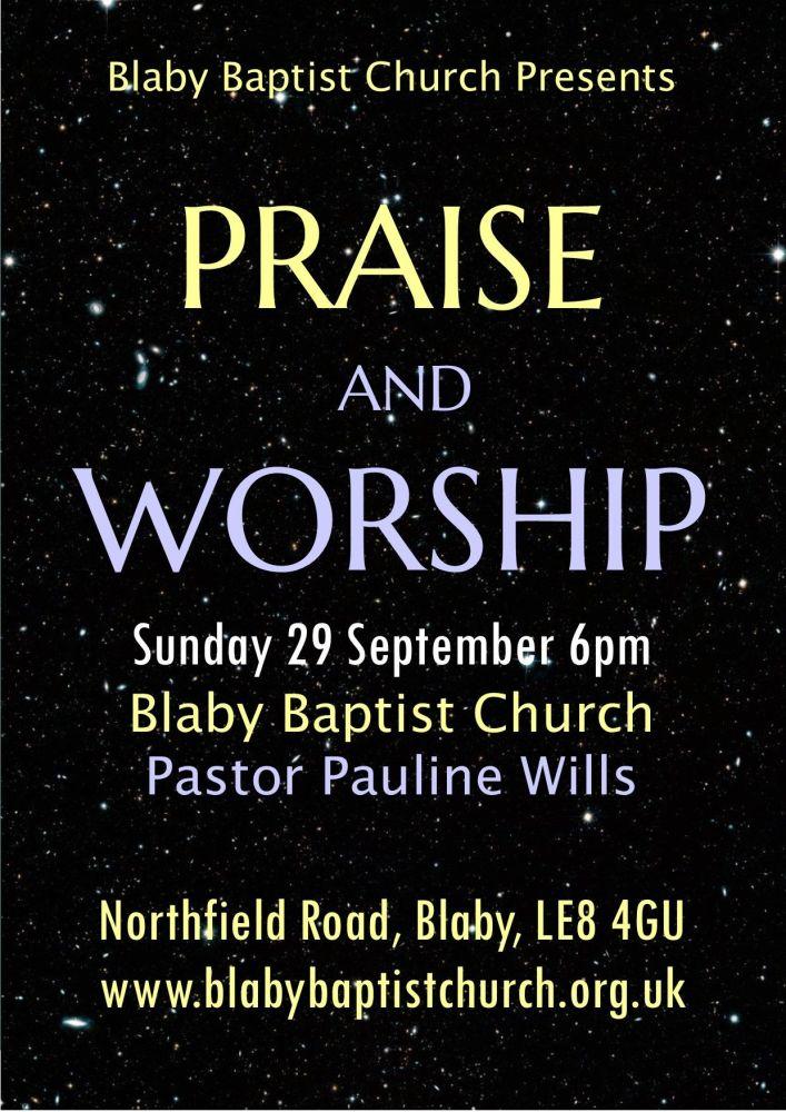 Praise Poster 09-19