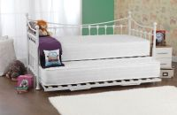 Eva Day Bed with Guest Bed - White