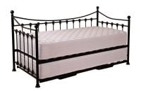 Eva Day Bed with Guest Bed - Black