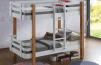 Jazzy Bunk Bed - White & Oak