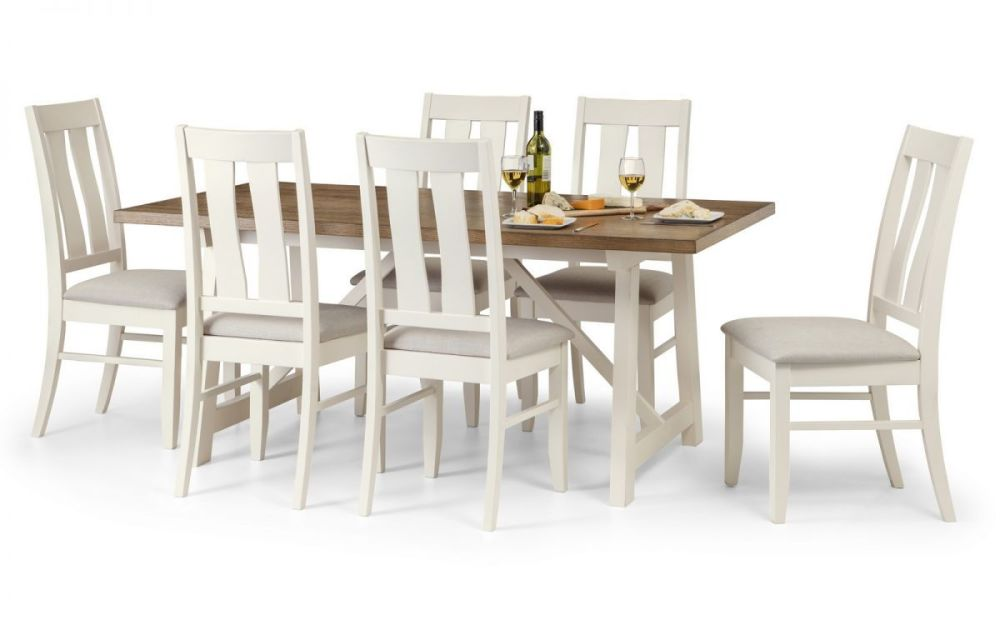 Pembroke Dining Set with 6 Chairs