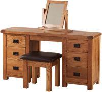 Rustic Oak  Dressing Table