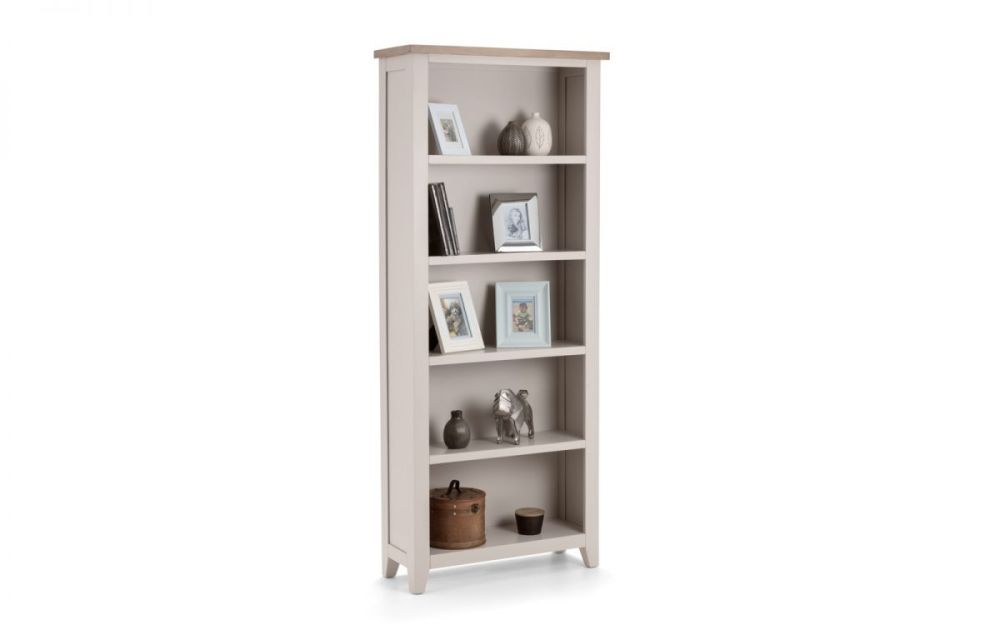 Richmond Tall Bookcase - Elephant Grey