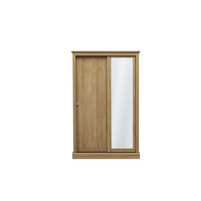 Devon Oak 2 Door Sliding Wardrobe