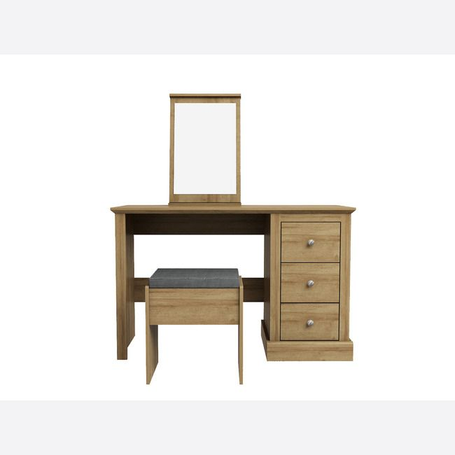 Devon Oak Dressing Table Set