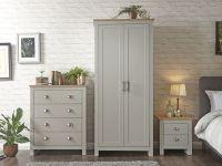 Lancaster 3 Piece Bedroom Set - Grey & Oak