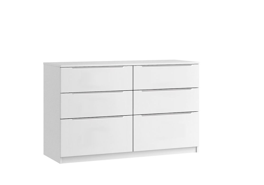 Genoa 6 Drawer Chest Twin Chest (inc 2 Deep Drawers)