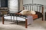 Tetras 5Ft Metal Bed Frame Silver or Black