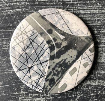 Monoprint Mirror Flotsam #10