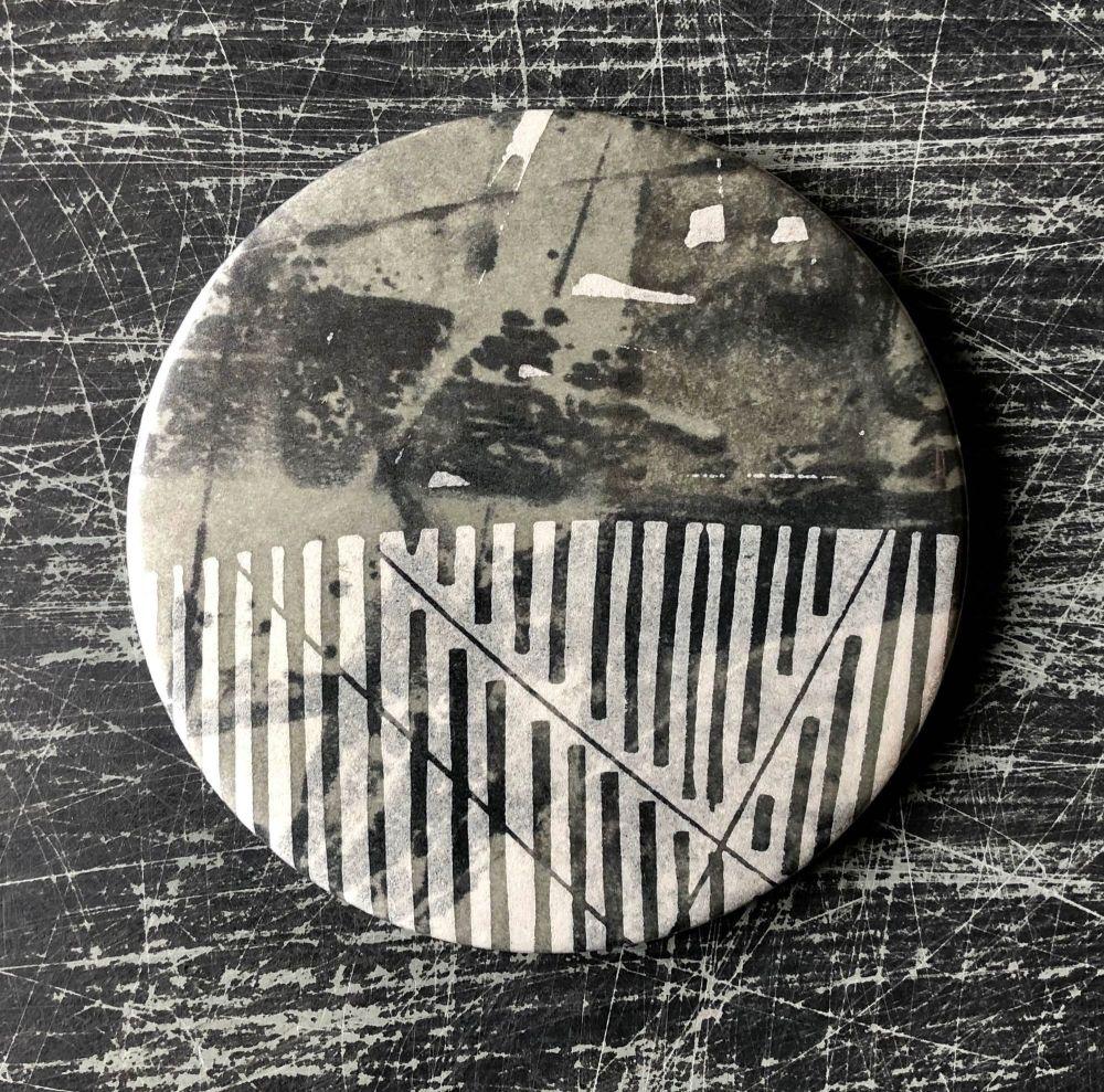 Monoprint Mirror Flotsam #11