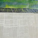 bempton cliffs ii iv monoprint