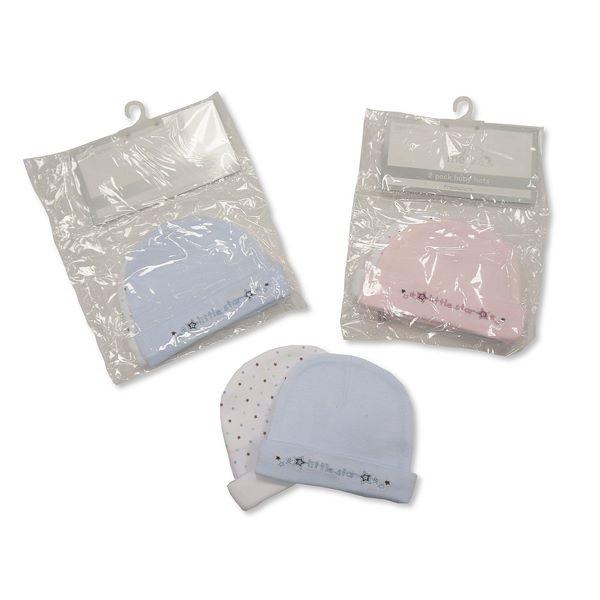Premature Baby Hats - 2 Pack Seta