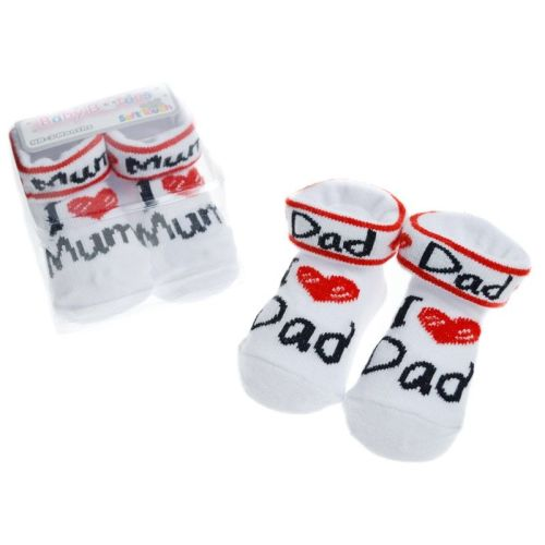 I Love Mum/Dad Socks