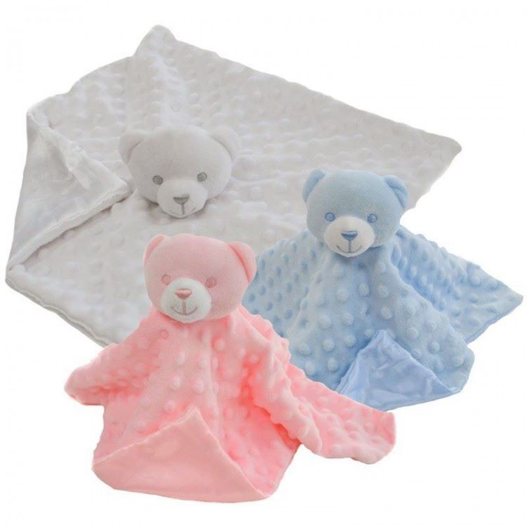 Soft Touch Teddy Comforter.