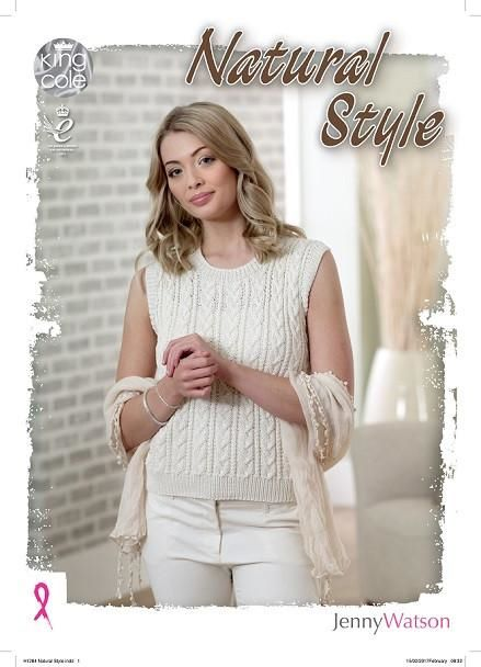 King Cole Naural Style by Jenny Watson Pattern Book