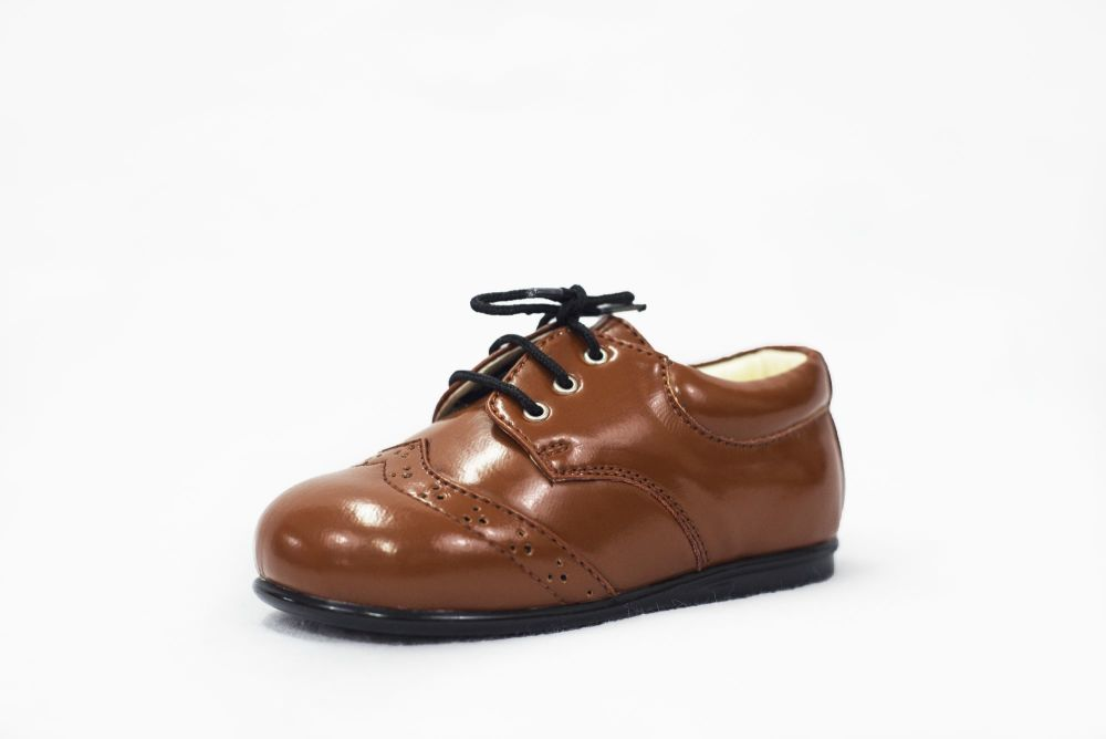 Early Steps Brogue Shoes in Brown