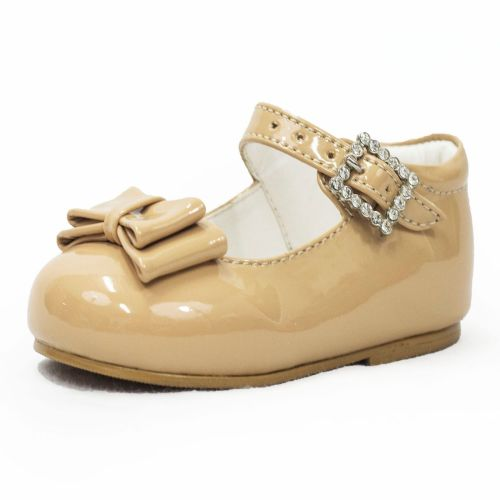 Early Steps Bow Shoes in Beige